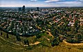 Box Hill Aerial Panorama. Taken from Surrey Park. April 2018.jpg