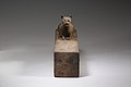 Box for animal mummy surmounted by a cat, inscribed MET LC-12 182 27 EGDP023742.jpg