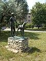 Boy and foal (Tamás Vigh, 1959), 2018 Oroszlány.jpg