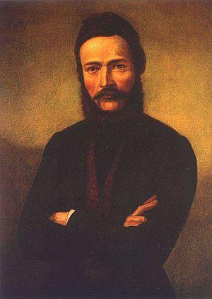 Ľudovít Štúr - Portrait by Jozef Božetech Klemens