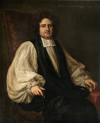 Bishop of Bangor - Image: Bp John Evans