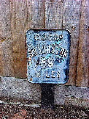 Braunston - Image: Braunston Sign near London