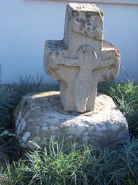 The deads' cross, Ploermael, Morbihan, Brittany