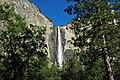 Bridalveil Falls (Yosemite Valley, Sierra Nevada Mountains, California, USA) 3 (19414019534).jpg