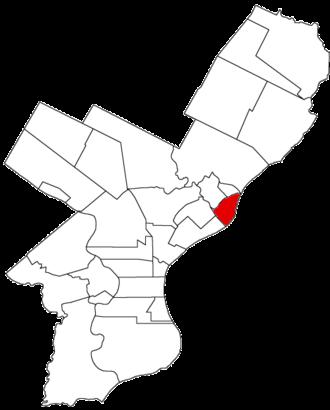 Bridesburg, Philadelphia - Image: Bridesburg Bor 1854
