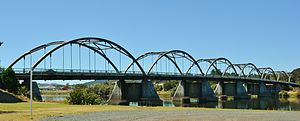 Huntly, New Zealand - Tainui Bridge