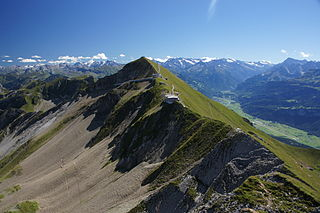 mountain in the Swiss Alps
