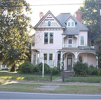 National Register of Historic Places listings in Ouachita Parish, Louisiana - Image: Bright Lamkin Easterling House 918 Jackson St, Monroe, LA