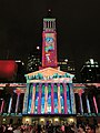 Brisbane City Hall light projection show 2017, 02.jpg
