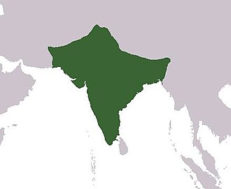 Colonial mentality - Territorial extent of British India.