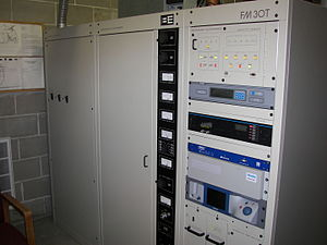 Broadcast Electronics - A Broadcast Electronics transmitter installed at WHJY in Providence, RI