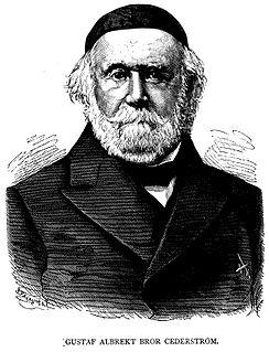 Bror Cederström Swedish baron