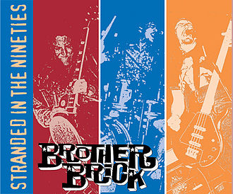 Brother Brick - Front cover of Brother Brick comp cd