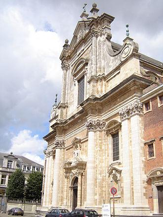 Pieter Huyssens - Image: Brugge Sint Walburgakerk 1