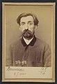 Bruneau. Amédé, Jean Baptiste. 46 ans, né à Châteauroux (Indre). Cordonnier. Anarchiste. 2-3-94. MET DP290244.jpg