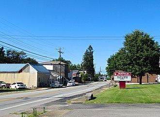 Buffalo, Kentucky - Kentucky Route 61 in Buffalo