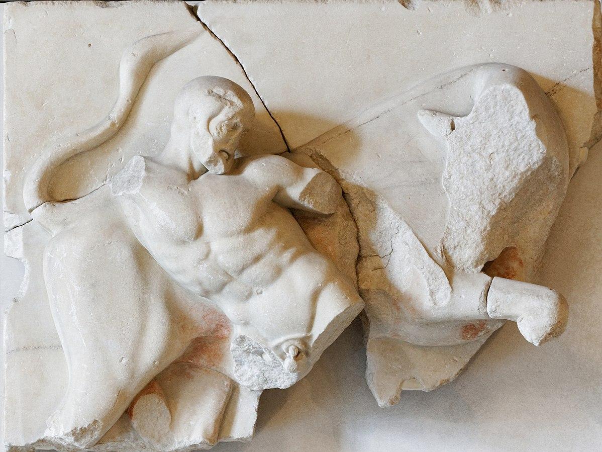 Héraclès et le Taureau de Crète