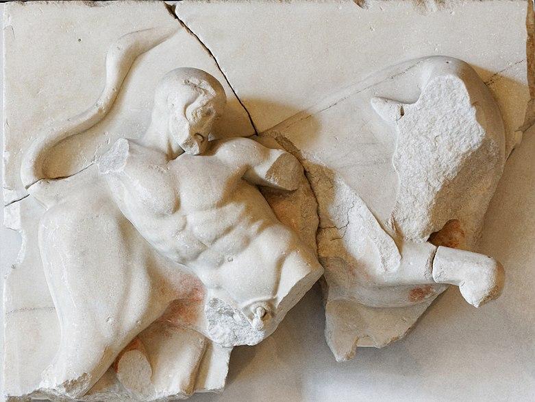 Image:Bull metope Olympia Louvre MA716.jpg
