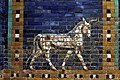 Bull mosaic - Ishtar Gate - Pergamonmuseum - Berlin - Germany 2017.jpg