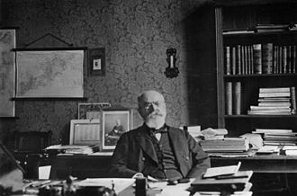 Friedrich von Holstein - Holstein at the Foreign Office, 1906