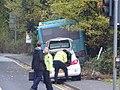 Bus crash into telegraph poles Riverhead Sevenoaks (24685811338).jpg