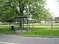 Bus stop for Harting at Nyewood - geograph.org.uk - 787812.jpg