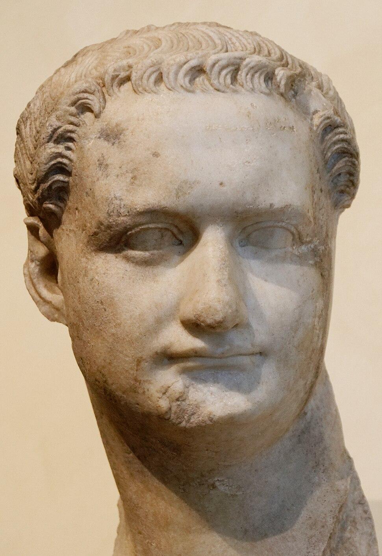 Bust Domitian Musei Capitolini MC1156