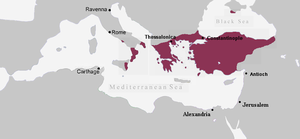 Byzantine Empire under the Macedonian dynasty - Byzantine Empire, c. 867 AD