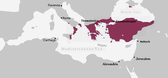 Byzantine Empire under the Macedonian dynasty - Byzantine Empire, c. 867 AD