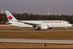 C-GHPY Air Canada Boeing 787-8 Dreamliner coming from Toronto - Lester B. Pearson International (YYZ - CYYZ) @ Frankfurt International (FRA - EDDF) - 22.01.2017 (32081719420).jpg