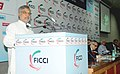 """C.P. Joshi delivering the inaugural address at the """"4th Edition of India Infrastructure Summit- 2012 Accelerating Implementation of Infrastructure Projects"""" organized by FICCI, in New Delhi on August 31, 2012.jpg"""