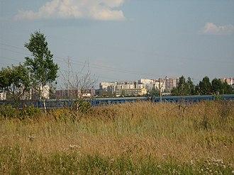 Kstovo - A commuter train is a rare guest in Kstovo