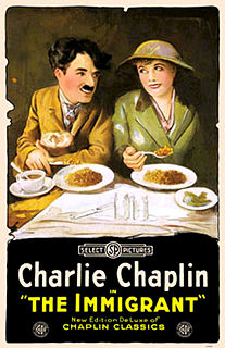 <i>The Immigrant</i> (1917 film) 1917 film by Charlie Chaplin