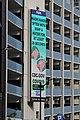 CDC public service message on a parking garage in Seattle.jpg