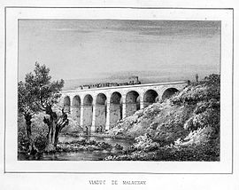 The Malaunay viaduct