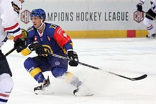 Perttu Lindgren Finnish ice hockey player