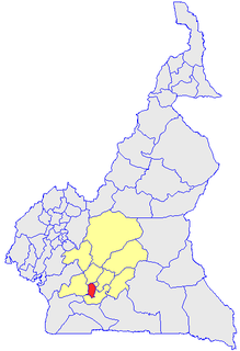 Méfou-et-Akono Department in Centre Province, Cameroon