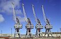 CSIRO ScienceImage 4201 Four cranes on the wharves at Adelaide SA.jpg