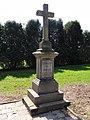 CZE Těrlicko-Hradiště Hřbitov, kříž familie Goch.jpg