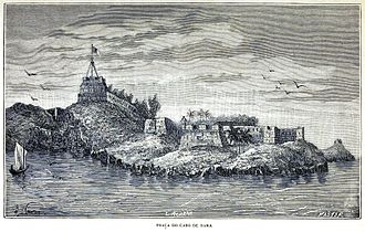 Cabo de Rama - A view from 1886