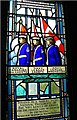 Cadet Memorial Stained Glass Window, Currie Hall, Currie Building, Royal Military College of Canada.jpg