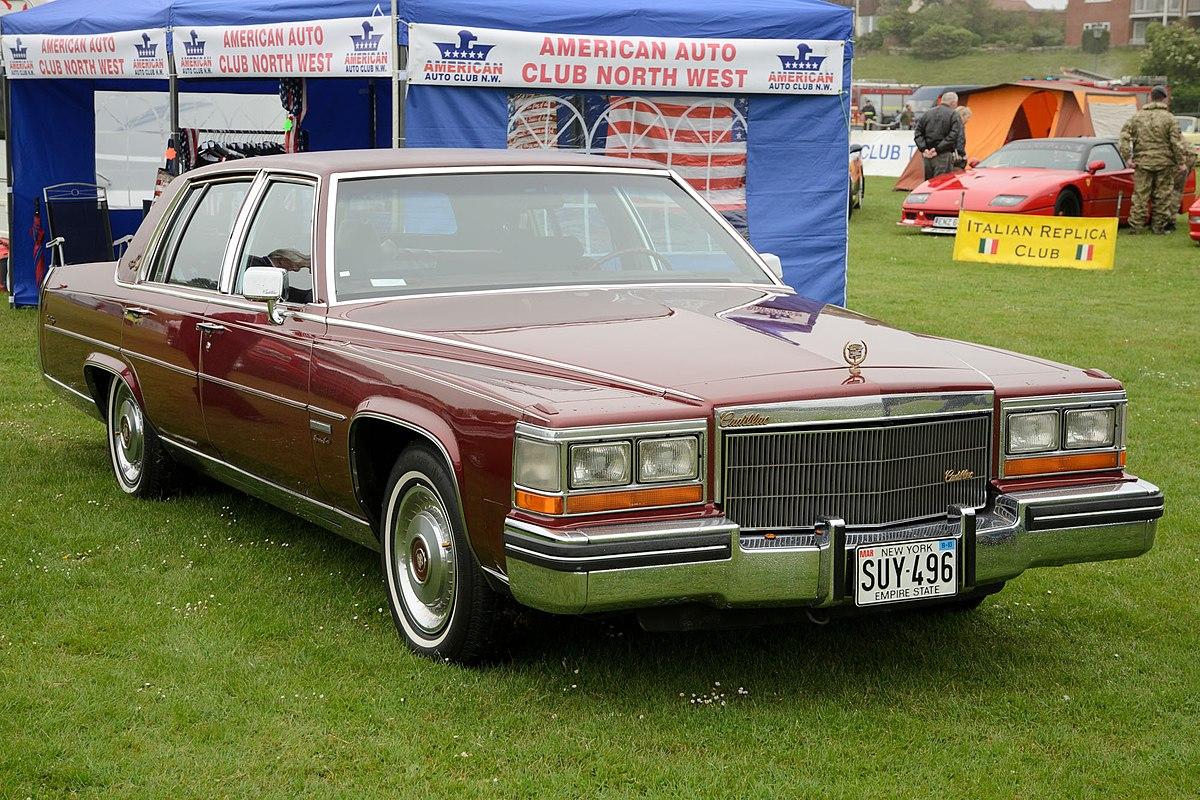 Cadillac Fleetwood Brougham - WikipediaWikipedia