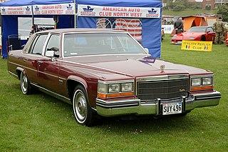 Cadillac Fleetwood Brougham Motor vehicle