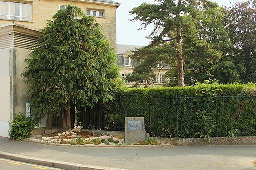 Caen plaque maison Koenig