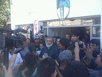 Water supply problems in Caleta Olivia 2014 - Mayor José Córdoba's speech.