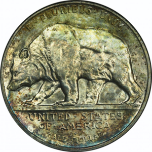 California Diamond Jubilee half dollar - Image: California half dollar reverse (transparent)