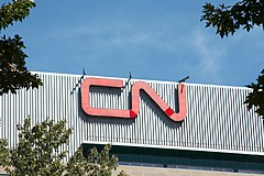 Canadian National Railway HQ sign 2007.jpg