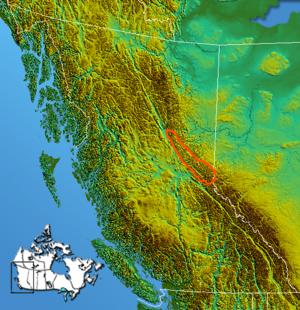 Hart Ranges - Image: Canadian Rockies Hart Ranges