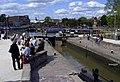 Canal Basin lock Stratford - geograph.org.uk - 1713827.jpg