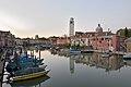 Canale di San Piero e Campanile a Venezia.jpg